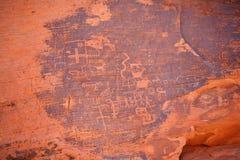 Petroglyphs Royaltyfri Bild