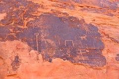 Petroglyphs Foto de Stock