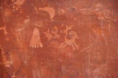 Petroglyphs ilustração stock