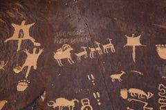 Petroglyphs Στοκ Φωτογραφία