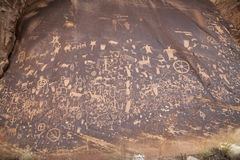 Petroglyphs Στοκ εικόνες με δικαίωμα ελεύθερης χρήσης