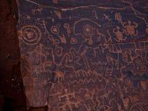 Free Petroglyphs At Wet Beaver Creek, Arizona Royalty Free Stock Images - 100536059