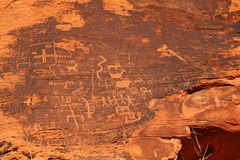Petroglyphs Royalty Free Stock Images