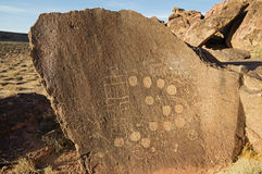 Petroglyphs Royalty Free Stock Photography