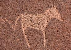 Petroglyphs i Twyfelfontein Royaltyfri Bild