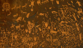 Petroglyphs - III Royalty Free Stock Photo
