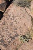 Petroglyphs na pedra foto de stock royalty free