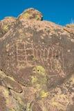 Petroglyphs na pedra fotos de stock royalty free