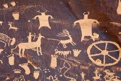 Petroglyphs Royalty Free Stock Images