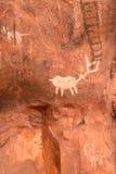 Indian Petroglyphs Stock Photos