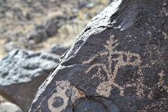 Petroglyphs - Rock Art Stock Photography