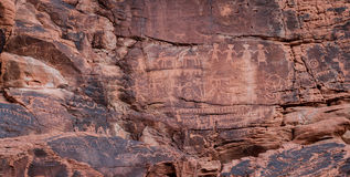 Petroglyphs, Valley of Fire Stock Images