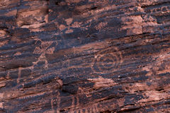 Petroglyphs, Valley of Fire Royalty Free Stock Photo