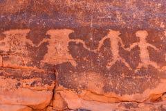 Petroglyphs Royalty Free Stock Photos