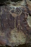 Petroglyphs of wyoming Royalty Free Stock Image