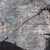 Petroglyphs of Zalavruga. Elk and fish Stock Photography
