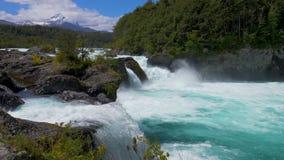 Petrohue瀑布 影视素材