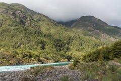 Petrohue River near Puerto Varas, Chile Royalty Free Stock Images