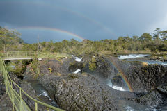 Petrohue River near Puerto Varas, Chile Stock Photo