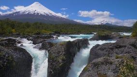 Petrohue vattenfall lager videofilmer