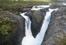 Petrohue Waterfalls, Chile Royalty Free Stock Photography