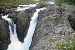 Petrohue Waterfalls, Chile Royalty Free Stock Photos