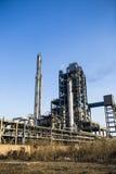 Petrokemisk fabrik Royaltyfria Bilder