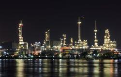 Petrokemisk växt Royaltyfria Foton
