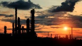 Petrokemisk växt Fotografering för Bildbyråer