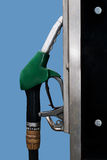 Petrol aka gas fuel pump Stock Photos