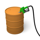 Petrol barrel Royalty Free Stock Photos