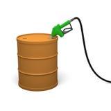 Petrol barrel Stock Photography