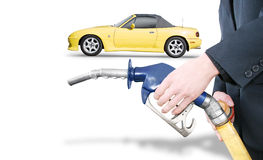Petrol Bowser Pump Royalty Free Stock Photo