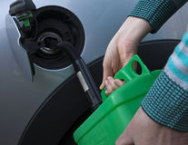 Petrol can Stock Photography