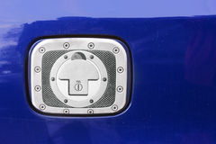 Petrol cap of car closed Stock Photography