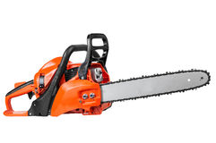 Petrol chain saw Royalty Free Stock Image