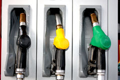 Petrol, diesel, heating, oil tank pump Royalty Free Stock Photo