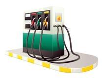Petrol dispenser unit Stock Photos