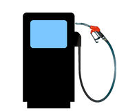 Petrol expensive. Petrol price increase royalty free illustration