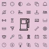 Petrol filling machine icon. Detailed set of minimalistic line icons. Premium graphic design. One of the collection icons for webs. Ites, web design, mobile app Stock Photography