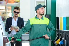 Free Petrol Filling Station Royalty Free Stock Photos - 44925058