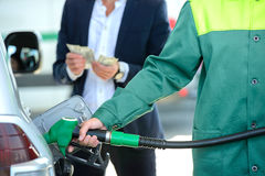 Petrol filling station Royalty Free Stock Photos
