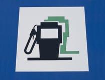 Petrol filling station signal Stock Photo