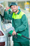 Petrol filling station Stock Photography