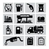 Petrol icons Stock Image