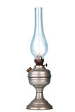 Petrol lamp on white Royalty Free Stock Photography
