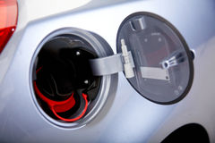 Petrol lid open Stock Images