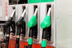 Petrol nozzles Royalty Free Stock Photo