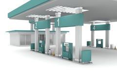Petrol posterar Arkivbild