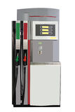 Petrol pump. The image of petrol pump under the white background royalty free stock image